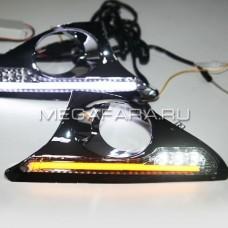 Дневные ходовые огни Тойота Камри V50 2011-2014 V5 type