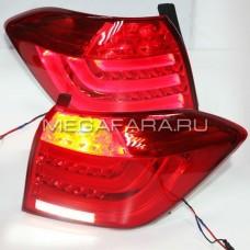 Задние фонари Тойота Хайлендер 2011-2013 BMW Style V4 type