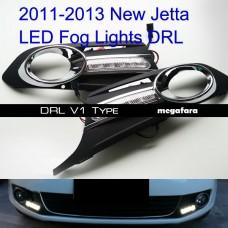 Дневные ходовые огни Джетта 6 2011-2014 V1 Type