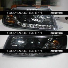 Передние фары Volkswagen Passat B5 1997-2002 E4 E11