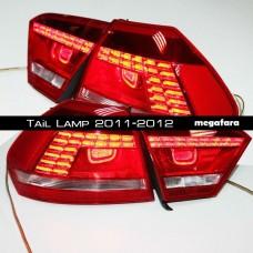 Задние фонари Фольксваген Пассат Б7 2011-2012 (автомобили США)