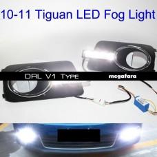 Дневные ходовые огни Volkswagen Tiguan ДХО V1 Type