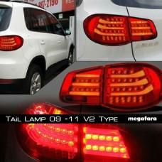 Задние фонари Volkswagen Tiguan 2009 -11 V1 Type