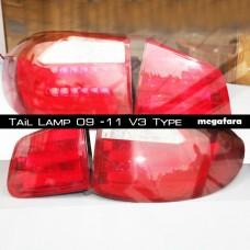 Задние фонари Volkswagen Tiguan 2009 - 11 V3 Type