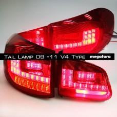 Задние фонари Volkswagen Tiguan 2009 - 11 V4 Type