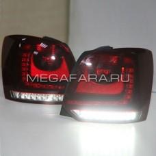 Задние фонари Фольксваген Поло 2010-2014 V1 type