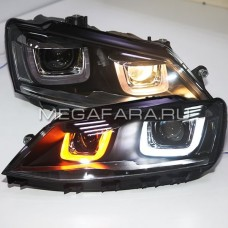 Передние фары Джетта 6 2011-2015 V10 type