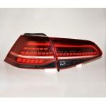 Задние фонари VW Гольф 7 2013-2017 V2 type [Комплект Л+П; Светодиодные; Динамичный сигнал поворота]