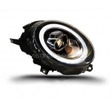 Передние фары Мини Купер F55 F56 2014-2019 V3 type [Комплект Л+П; светодиодные яркие ходовые огни; би LED линза; электрокорректор]