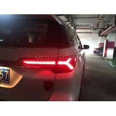 Задние фонари Тойота Фортунер 2017-2020 V4 type  [Комплект Л+П; светодиодные; бегущий поворотник]