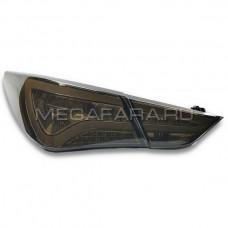 Задние фонари Хендай Соната 2009-2011 V9 type [Комплект Л+П; светодиодные; ТОНИРОВАННЫЕ]