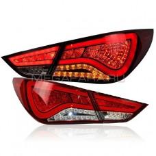 Задние фонари Хендай Соната 2009-2011 V10 type [Комплект Л+П; светодиодные]