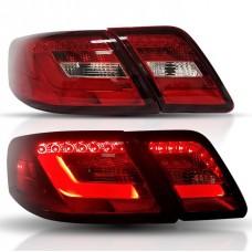 Задние фонари Тойота Камри V40 2006-2011 V1 type КРАСНЫЕ [Комплект Л+П; светодиодные]