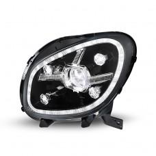 Передние фары Мерседес Смарт 2015-2020 V3 type [Комплект Л+П; ДХО; FULL LED; электрокорректор; динамичный поворотник]