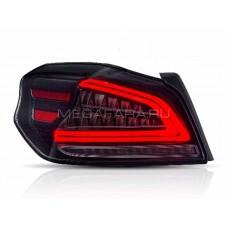 Задние фонари Субару WRX Impreza 2014-2019 V1 type [Комплект Л+П; полностью светодиодные; динамичный поворотник]