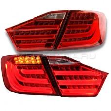 Задние фонари Тойота Камри V50 2011-2014 V1 type [Комплект Л+П; Светодиодные; LED поворотник]