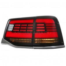 Задние фонари Тойота Ленд Крузер 200 2015-2020 V9 type [Комплект Л+П; светодиодные; динамичный поворотник]