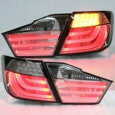 Задние фонари Тойота Камри V50 2011-2014 V7 type ДЫМЧАТЫЕ [Комплект Л+П; Светодиодные; LED поворотник]