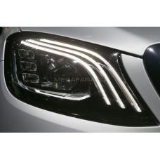 Передние фары Мерседес S-class W222 2014-2019 V1 type [Комплект Л+П; Полностью светодиодные]