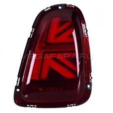 Задние фонари Мини Купер R56 Union Jack 2007-2013 V1 type КРАСНЫЕ [Комплект Л+П; Светодиодные]