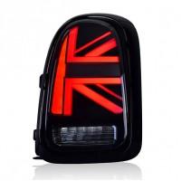 Задние фонари Мини Купер Кантримен F60 Union Jack 2010-2020 V1 type КРАСНЫЕ [Комплект Л+П; Светодиодные]