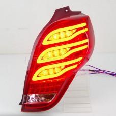 Задние фонари Шевроле Спарк 2009-2015 V2 type [Комплект Л+П; Светодиодные; Динамичный поворотник]