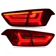 Задние фонари Хендай Крета IX25 V6 Type [Комплект Л+П; светодиодные; динамичный поворотник]