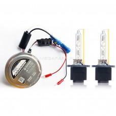 Комплект ксенона AOZOOM с лампами Heart&Ray D2H 5500К V1 type [Комплект: 2 блока (CANBUS) + 2 лампы]