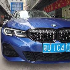 Передние фары БМВ 3 серии G20 / G28 2019-2021 V2 type [Комплект Л+П; яркие ходовые огни; светодиодный поворотник; FULL LED]