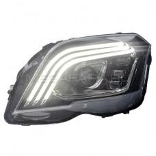 Передние фары Мерседес GLK 260 GLK 300 2008-2012 V2 type [Комплект Л+П; ходовые огни; электрокорректор; FULL LED]