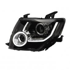 Передние фары Мицубиси Паджеро 4 V93 V97 2006 - 2021 V1 type [Комплект Л+П; динамичный поворотник; ходовые огни; FULL LED]]