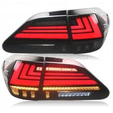 Задние фонари Lexus RX 2009-2014 V1 type [Комплект Л+П; Светодиодные; Динамичный поворотник]