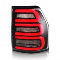 Задние фонари Мицубиси Паджеро 4 2006 - 2020 V3 type ДЫМЧАТЫЕ [Комплект Л+П; Светодиодные; Динамичный поворотник]