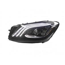 Передние фары Мерседес S-class W222 2014-2019 V1 type [Комплект Л+П; Полностью светодиодные; БЕЗ БЛОКОВ]