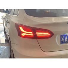 Задние фонари Форд Фокус 3 Седан 2015-2019 V8 type [КРАСНЫЕ; Комплект Л+П; светодиодные]
