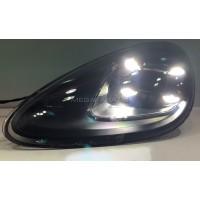 Передние фары Порше Кайен 958 2011-2014 V1 type [Комплект Л+П; ходовые огни; FULL LED]