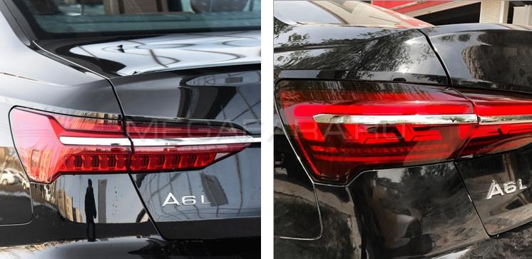 Задние фонари Ауди А6 (C8) 2019-2021 V2 Type [Комплект Л+П; Светодиодные; Динамичный поворотник]