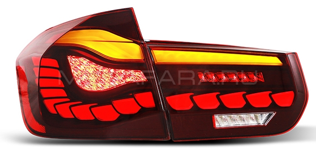 Задние фонари БМВ 3 серии 2012-2017 F30 F31 V6 type [Комплект Л+П; Светодиодные; Динамичный поворотник]