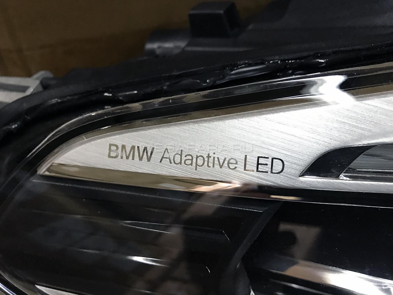 Передние фары БМВ 5 серии Icon Light G30/G31 2017-2019 V2 type [Комплект Л+П; Полностью светодиодные]