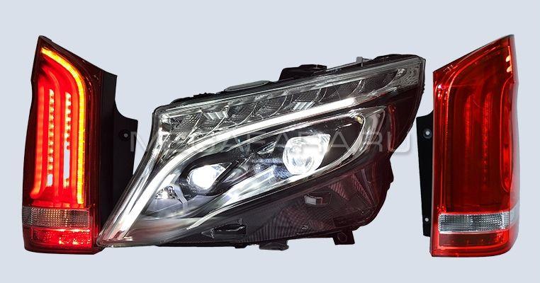 Задние фонари Мерседес Вито W447 2015-2019 V1 Type