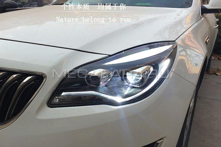 Передние фары Опель Инсигния 2014-2016 V6 type