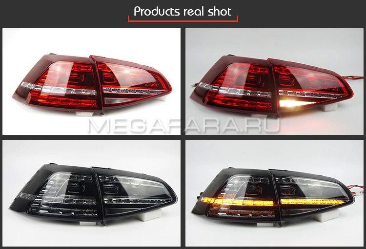 Задние фонари VW Гольф 7 2013-2017 V1 type