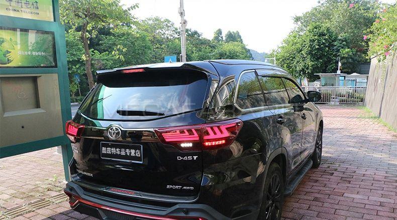 Задние фонари Тойота Хайлендер XU50 2014-2016 V13 Type [Комплект Л+П; полностью светодиодные; динами
