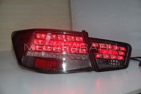 Задние фонари Киа Церато 2009-2013 V1 type [Комплект Л+П; светодиодные]