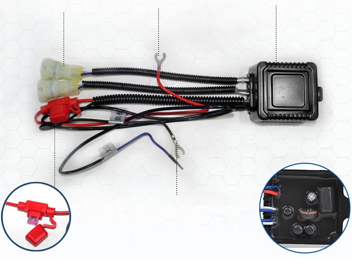 Дневные ходовые огни Форд Мондео 2011-2014 V2 Type
