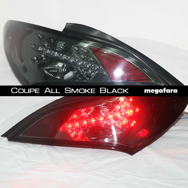 Задние фонари Hyundai ROHENS Tail Lamp Coupe All Smoke Black