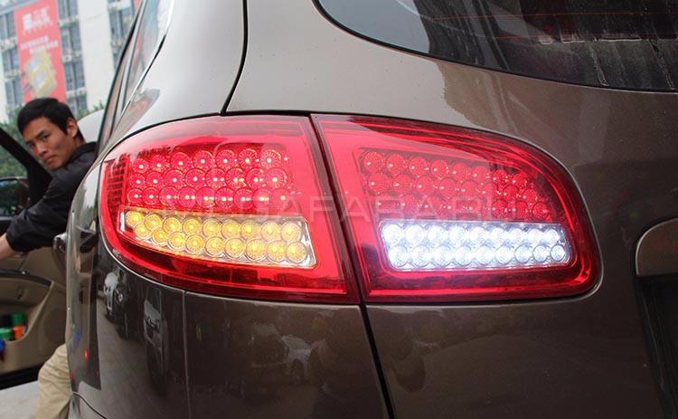 Задние фонари Хендай Санта Фе 2 2007-2012 V1 type [Комплект Л+П; Светодиодные]
