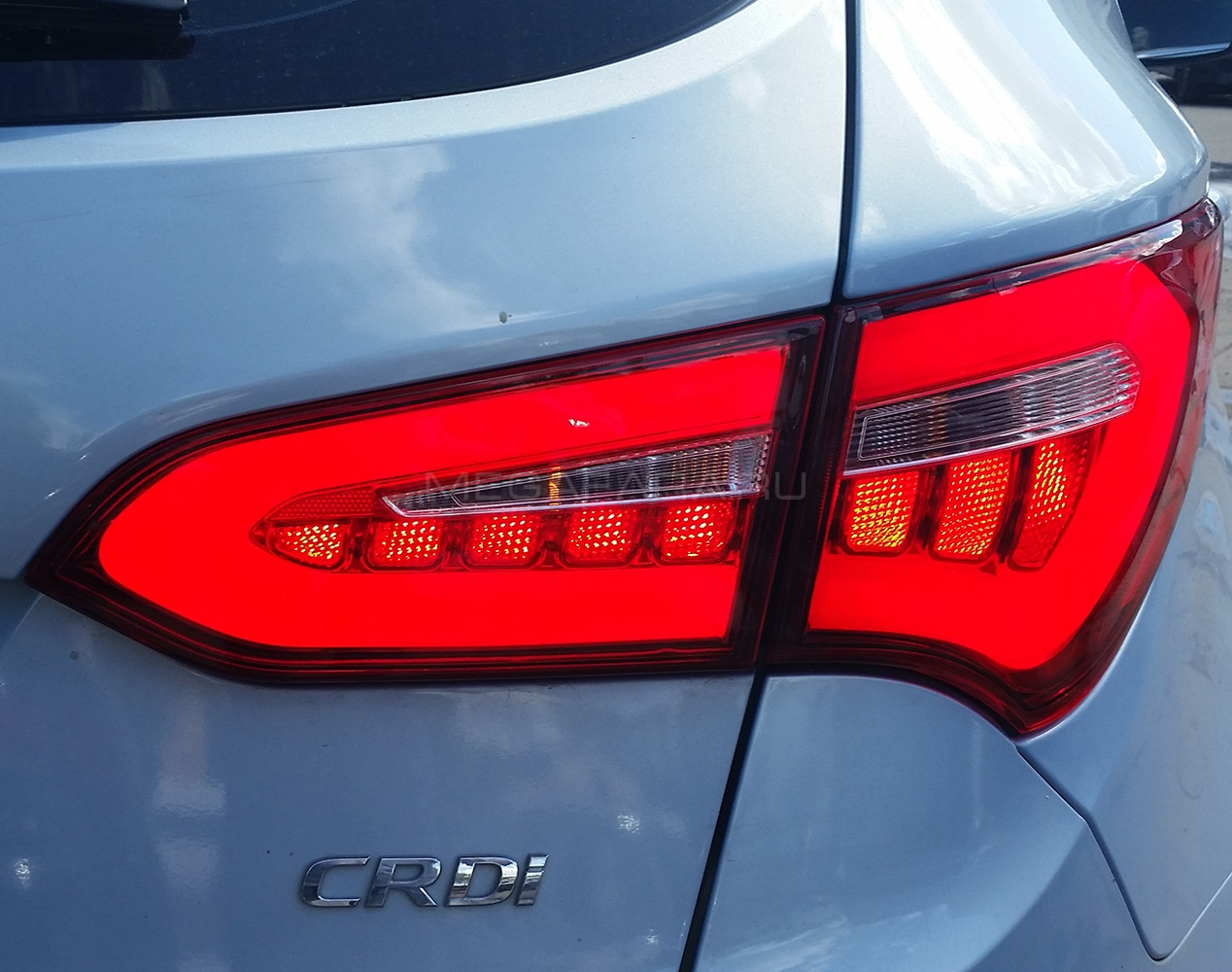 Задние фонари Хендай Санта Фе 3 2013-2018 V7 type [Комплект Л+П; Светодиодные]