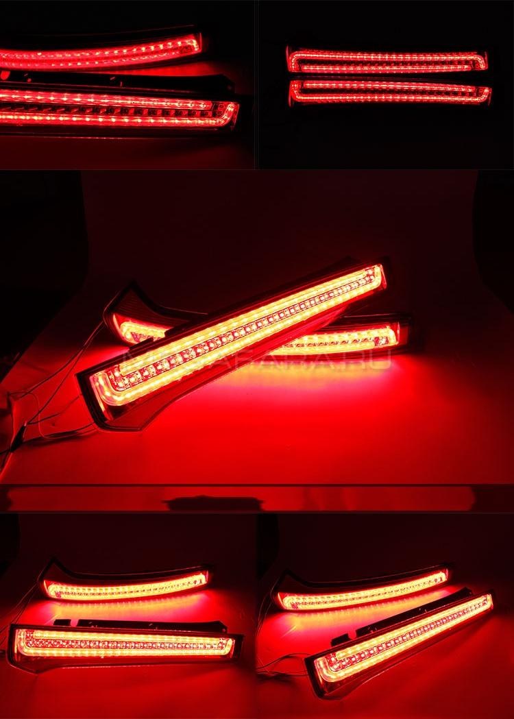 Задние светодиодные фонари Киа Спортейдж 2 2004-2010 [Комплект Л+П; Светодиодные]