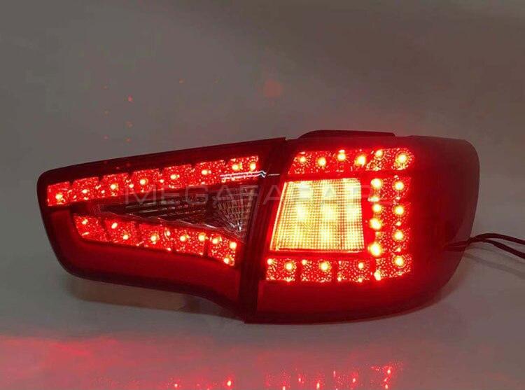 Задние фонари Киа Спортейдж 3 2010 - 2015 V4 type [Комплект Л+П; Светодиодные]